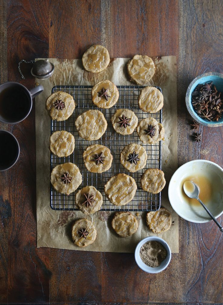 Chai Spiced Protein Cookies
