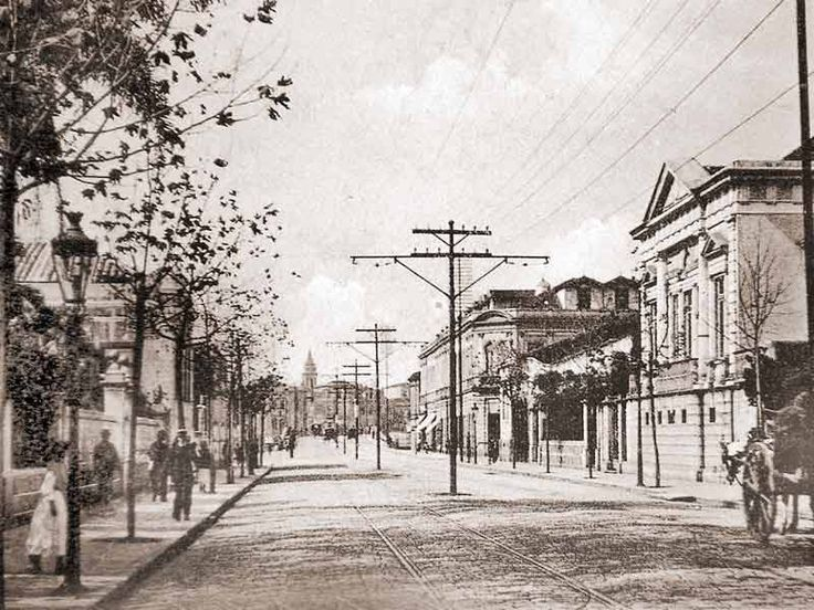 RUA BARÃO DE ITAPETININGA, em 1905
