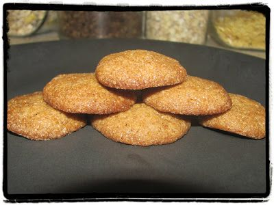 Z ghetta blog: Zázvorové sušenky