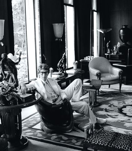 YSL at home, Paris