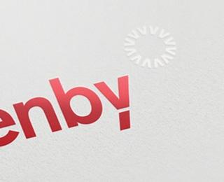 Azenby Logo by Inkbot Design (via Creattica)