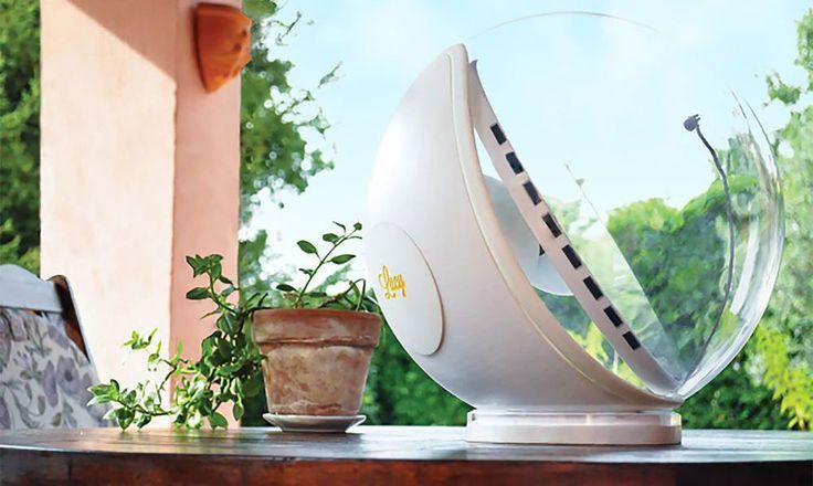 Lámpara portátil que refleja la luz del sol para iluminar zonas sin luz natural. 15/09/16