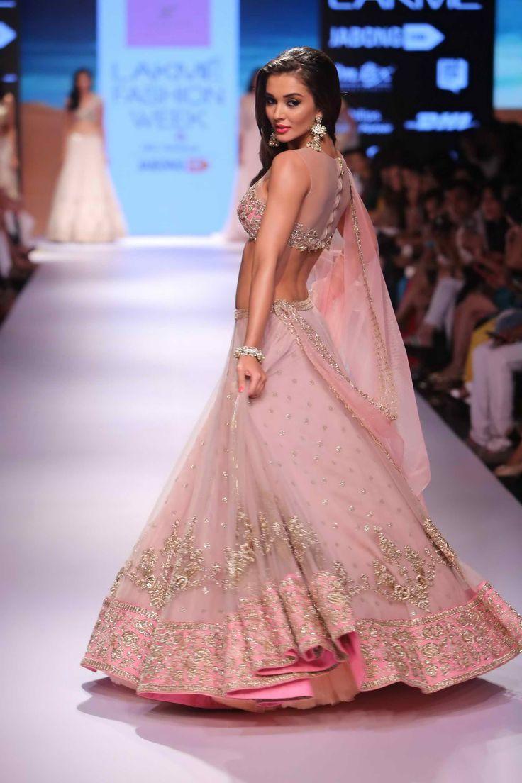pink bridal lehanga (3)