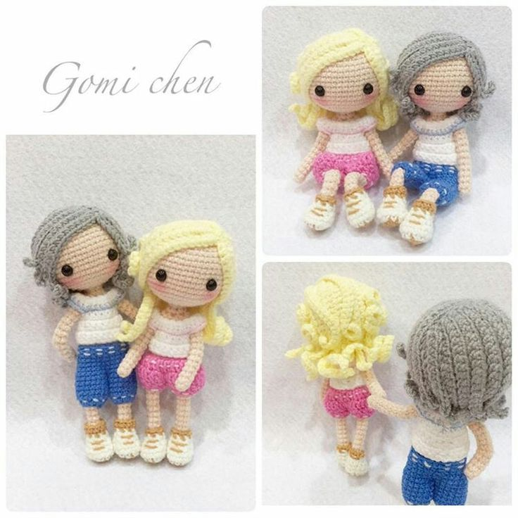Crochet Amigurumi Doll Body : 653 best images about Amigurumi on Pinterest Amigurumi ...