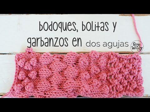 El blog de Dmc: Vídeo tutorial: como tejer bodoques y bolitas en tricot