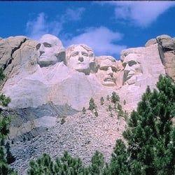 Aux Etats-Unis: le Mont Rushmore
