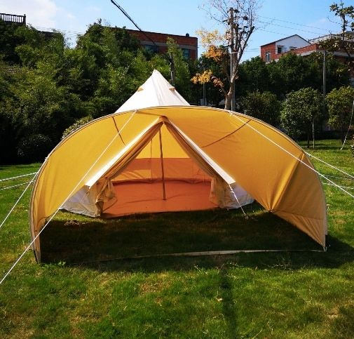 Premium Cotton Canvas Glamping Bell Tents Bell Tent Tent Tent Glamping