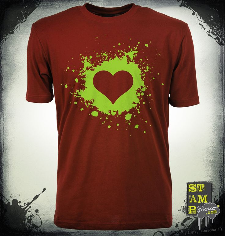 My Valentine (Cyber Green) 2014 Collection - © stampfactor.com *T-SHIRT PREVIEW*