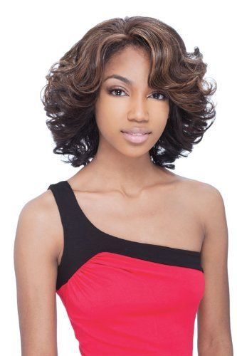 "VICTORIA - Shake N Go Freetress Equal Lace Front Natural Hairline Wig #4/30 by Equal. $36.95. Front & Rear Realistic ""Baby Hair"" for the Natural Look. No Glue, No Tape Necessary. FUTURA fiber is Curling Iron Safe up to 400'F. Shake-N-Go FreeTress The luxury Integration Equal Wig.EQUAL is the premium luxury integration of the most expensive synthetic hairs.It's called EQUAL because it looks and feels just like human hair. Boasting its most human like sheen, it's th..."