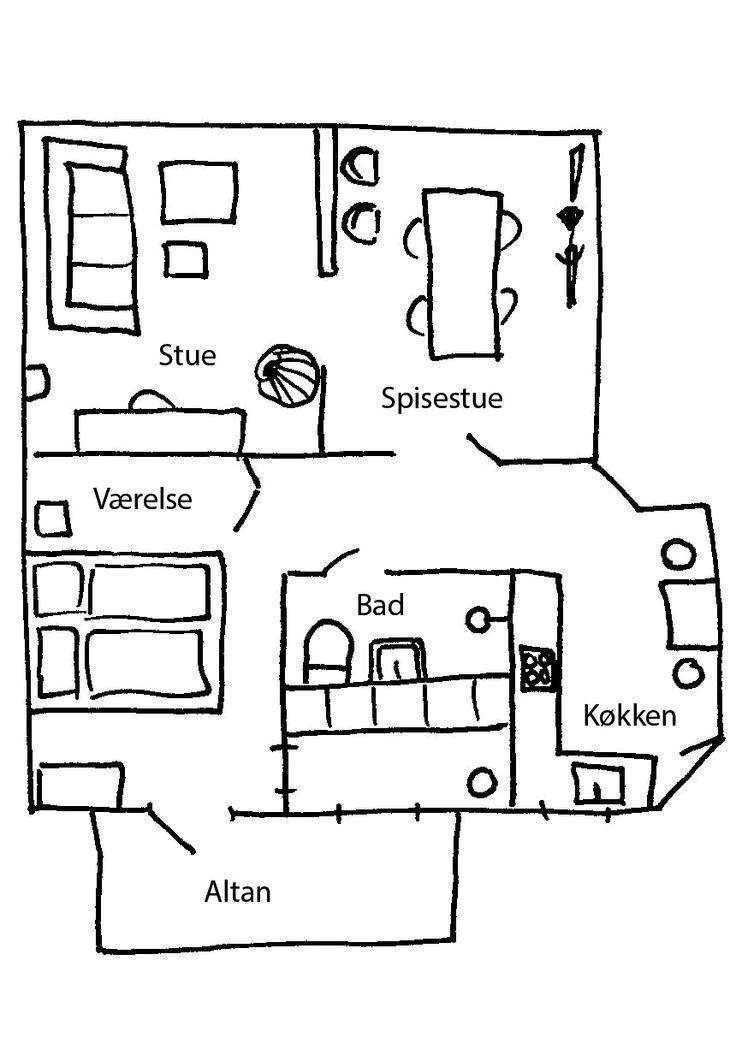 Drømmer du om en tur til Paris? Kig inden for i Amalie Sparsøs skønne lejlighed, der på en gang er lys og piget, men også rå og patineret a la fransk marskandiser.