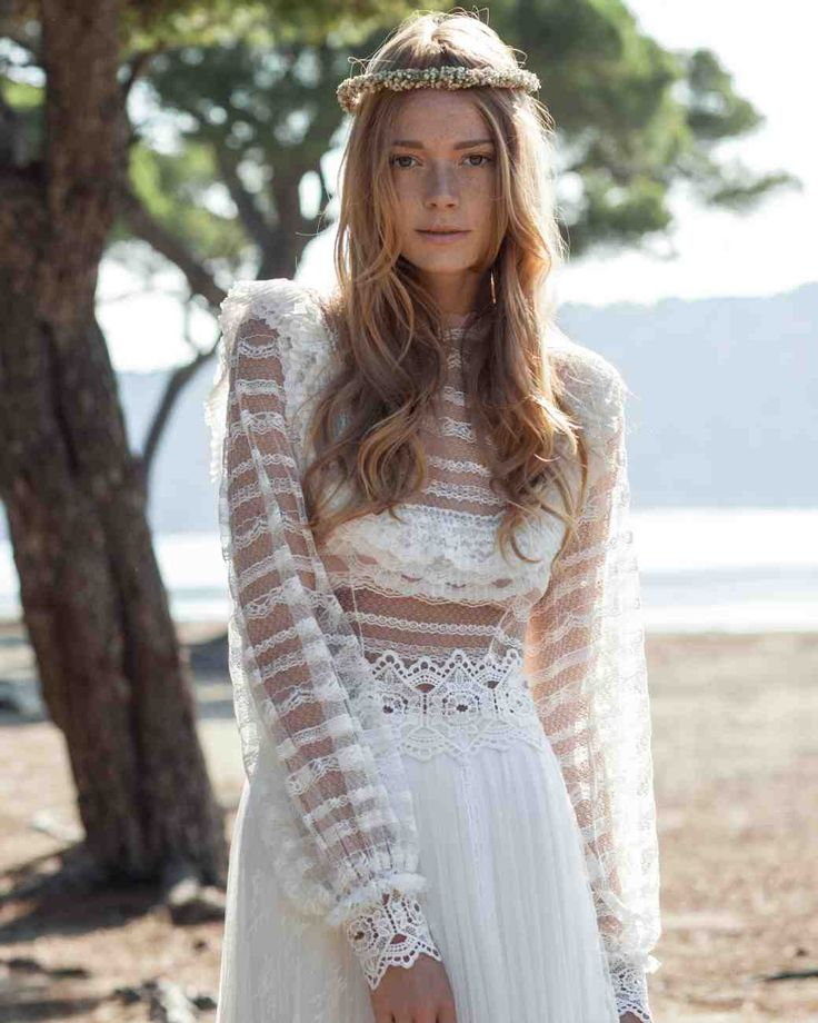 196 Best The Greek Wedding Dress Images On Pinterest: Long-Sleeve Wedding Dresses We Love