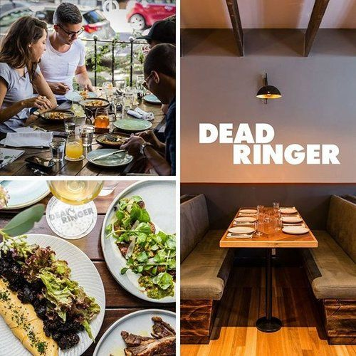 Have a lazy long weekend Sunday with us at Dead Ringer in Surry Hills. 🍴🍷🥃🍻👌  Brunch today from 11am, great Australian wines, beers and cocktails all day and plenty of casual dinner options, book via link above or just mosey on down!