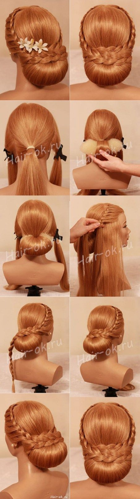 DIY Beautiful hairstyle