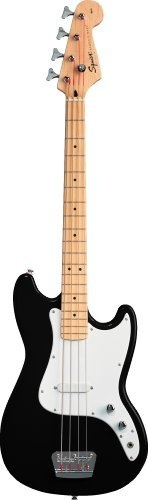 Squier by Fender Bronco Bass  Black: http://www.amazon.com/Squier-Fender-Bronco-Bass-Black/dp/B0002F75P6/?tag=pinter08-20