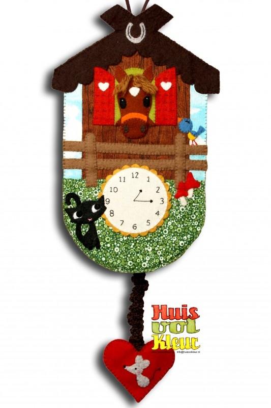 Muziekdoos klokje Paard