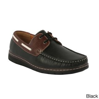 J's Awake 'Micheal-62 Men's New Fashion Comfort Boat Shoes Loafers | Overstock.com Shopping - Great Deals on Loafers