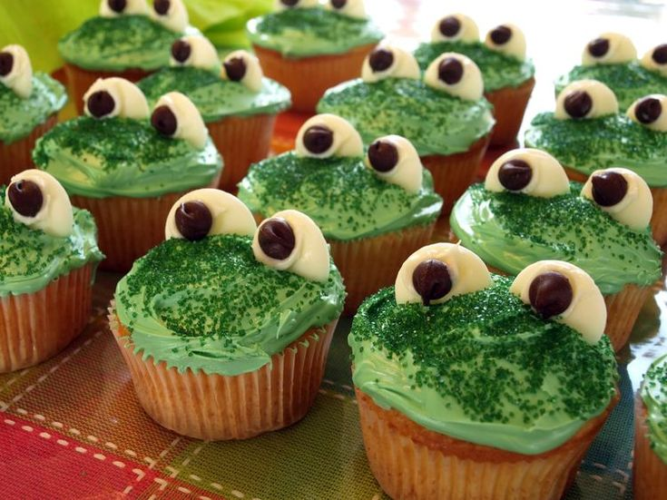 cupcake sapos