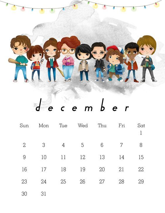 New On Netflix December 2019 Calendar December 2018 Calendar Cute | December 2018 Calendar in 2019