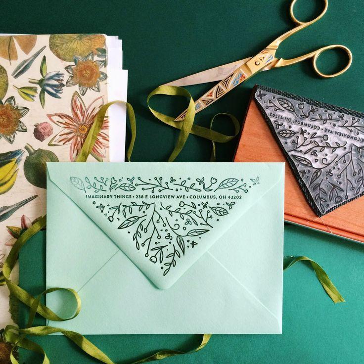 Matchy Matchy Letterpress Invite And Handmade Envelope: Best 25+ Envelope Design Ideas On Pinterest