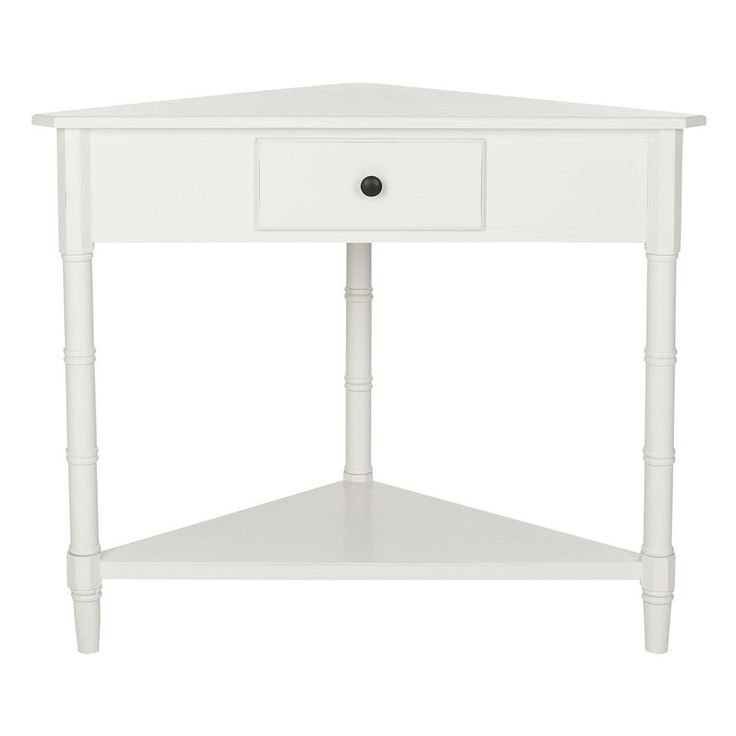 Safavieh Gomez Corner Accent Table, White