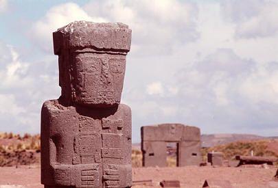 World Mysteries - Mystic Places - TIWANAKU / Tiahuanaco. Puma Punka
