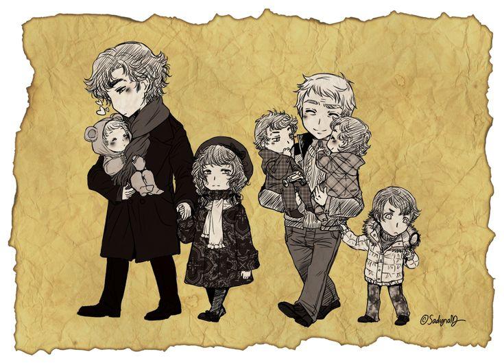 BBC Sherlock's & John's family? L-O-L