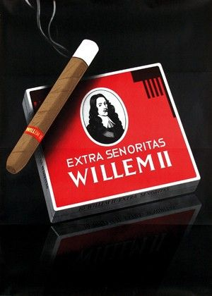 <b>764 | A-/B | Cornelius van Velsen (1921-) - Willem II Extra Senoritas | € 200 - 700</b>