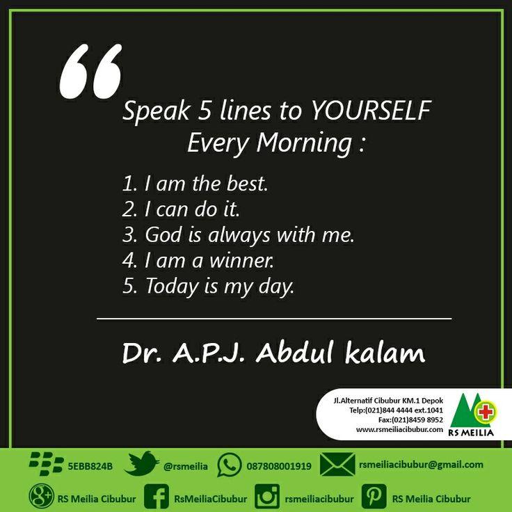 Quotes of the day #layanan #sehat #dokter #rumahsakit #rsmeilia #cibubur #depok #cileungsi #bekasi #bogor #jakarta #tangerang #indonesia