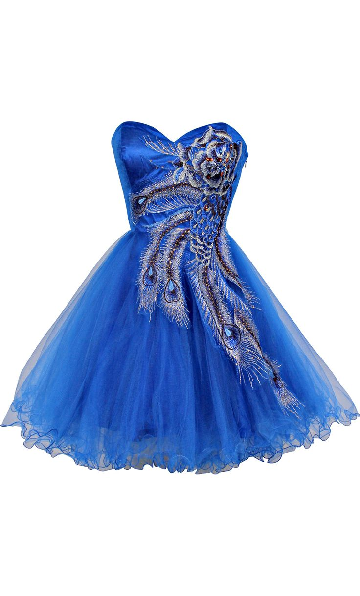 Metallic Peacock Embroidered Holiday Party Prom Dress Junior Plus Size   Junior Plus Size Prom Dresses