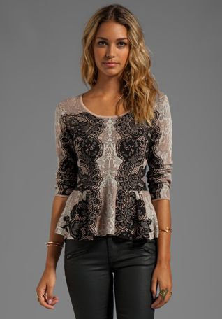 BCBGMaxazria. What a beautiful top!