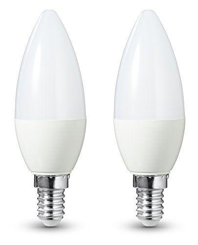 AmazonBasics Lot de 2 ampoules LED E14 6 W (40 W)