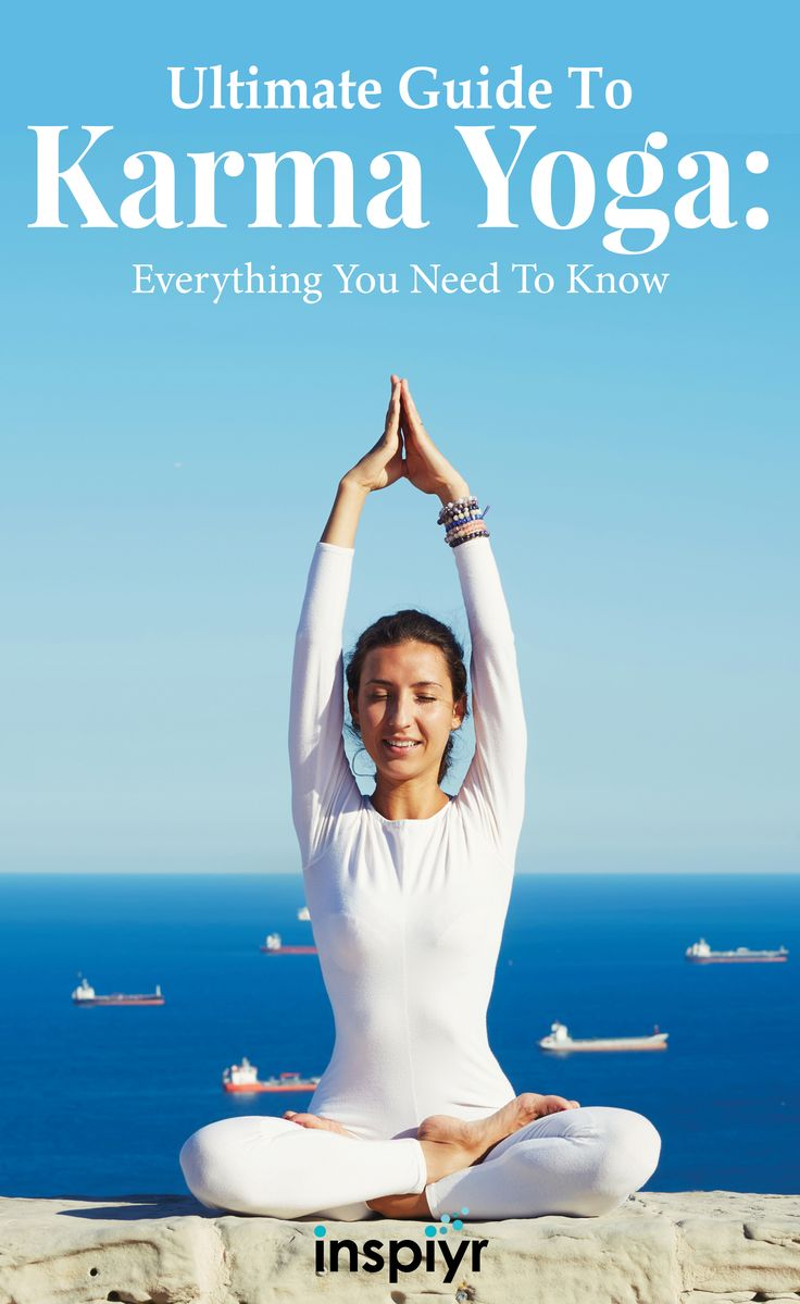 Ultimate Guide To Karma Yoga: Everything You Need To Know by Inspiyr.com // Karma Yoga is simply the Yoga of action...leading a life of selfless sacrifice. Here are 4 steps to get started on finding your spiritual purpose. #Inspiyr