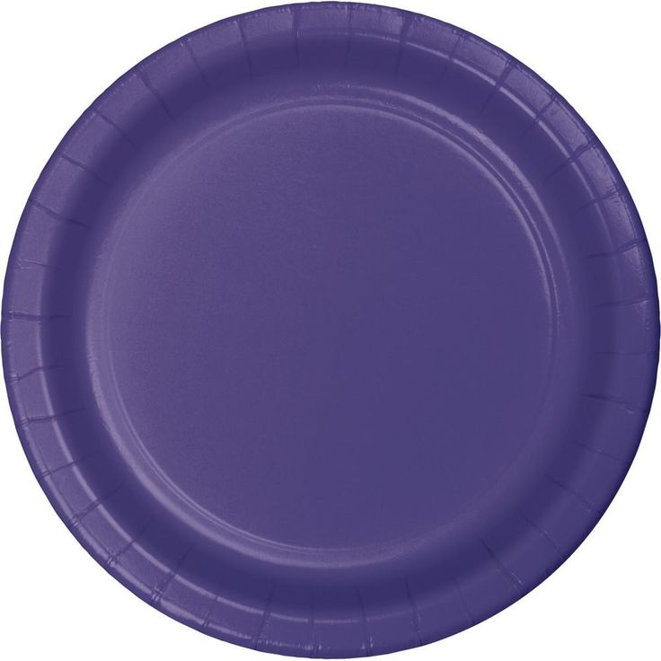 Purple Dinner Plate (96/case)