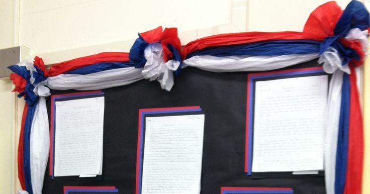 Classroom DIY: DIY Bulletin Board Borders