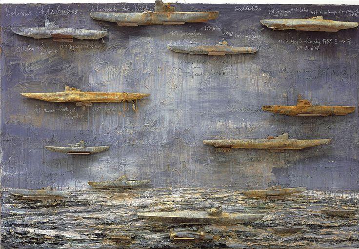 ArtPropelled   contemporary-art-blog:     Anselm Kiefer