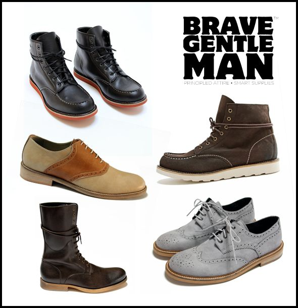 #Vegan and Eco-friendly shoes from Brave Gentleman: More Birthday Ideas for The Husband :)