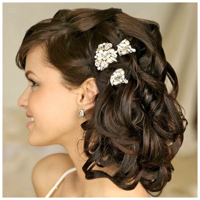Medium Length Hairstyles For Weddings: Mother Of The Groom Half Up Medium Hair