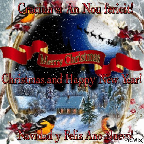 Craciun si An Nou fericit!1