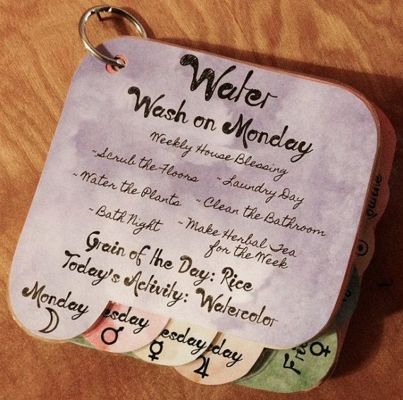 Waldorf Daily Rhythm Cards Printable by KinderGardenToys