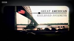 Great American Railroad Journeys is a BBC travel documentary series presented by Michael Portillo and aired on BBC Two .  Using an 1879 copy of Appleton