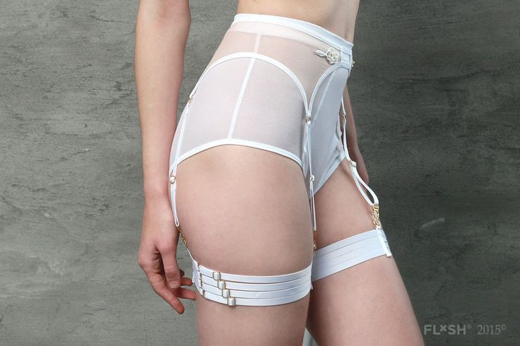 These sexy leg accessories are perfect for days when you want to add something a little bit extra to your choice of lingerie or a head-turning