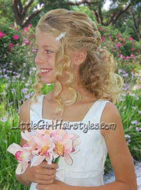 Little Girls Pageant Hairstyles | Naturally Beautiful Kids Pageant Hair | Pageant Hairstyles ...