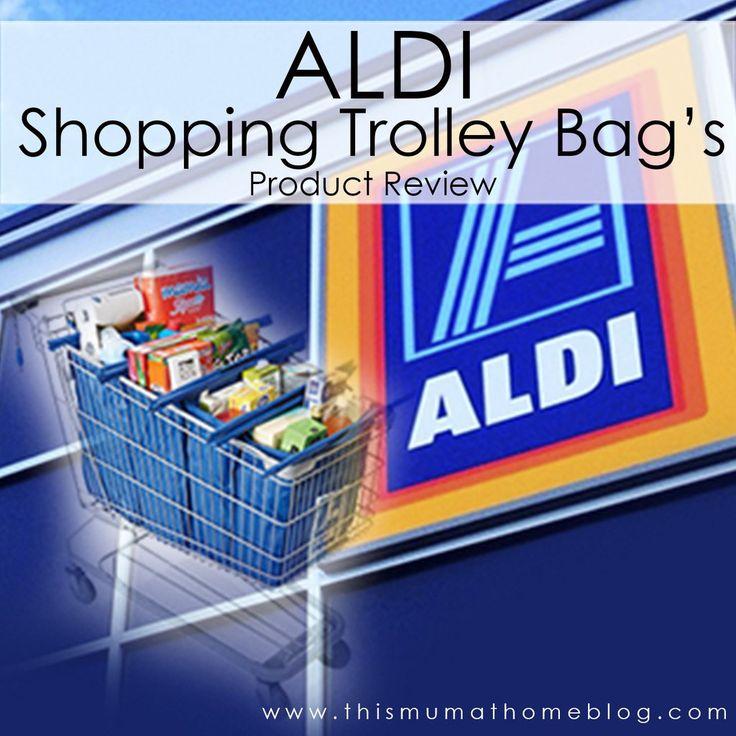 Aldi Shopping Trolley Bag'sToday I'm talking about the Aldi Shopping Trolley Bags. These bags were in one of their weekly special items and may not be available right now, but you can purchase similar ones online at places such as Amazon too (see below). These shopping trolley bags have made my grocery shopping so much more simple & quick. Without fail every time I am shopping in store other customers either ask me where I got these wonderful bags or they watch me with a shocked ...