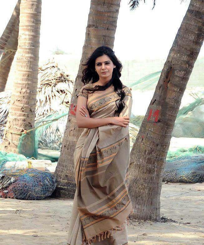 samantha in Saree