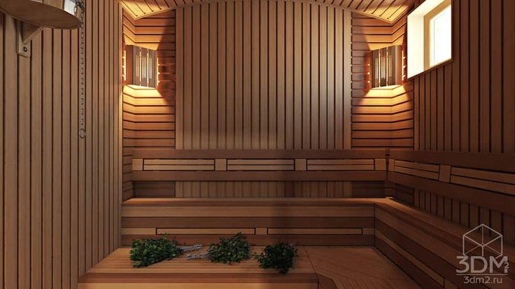 32: Спа в . Автор – студия визуализации и дизайна интерьера '3dm2'
