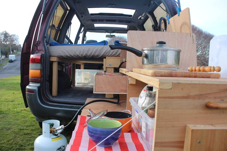 Van Conversion Camping Sleeper Van