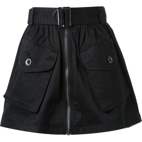 Diesel O-Boden Skirt (235 CAD) ❤ liked on Polyvore featuring skirts, mini skirts, bottoms, diesel, blue, cotton short skirts, cotton mini skirts, diesel skirts, blue mini skirt and short skirt