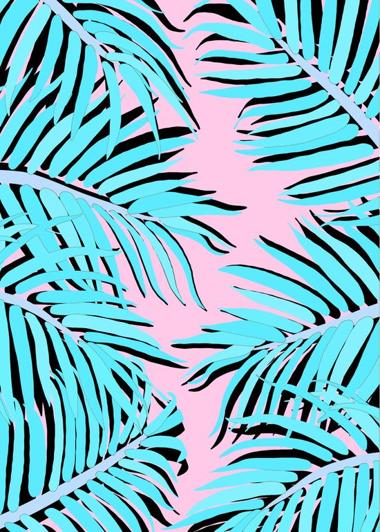 Palm tree Art Print by Hanna Kastl-Lungberg