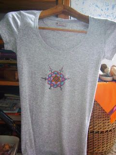 mandala su maglietta