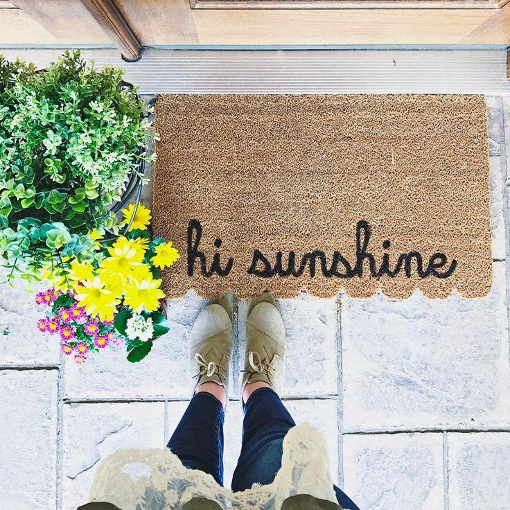 DIY Doormat with Cricut